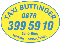 Taxi Buttinger in Seewalchen am Attersee